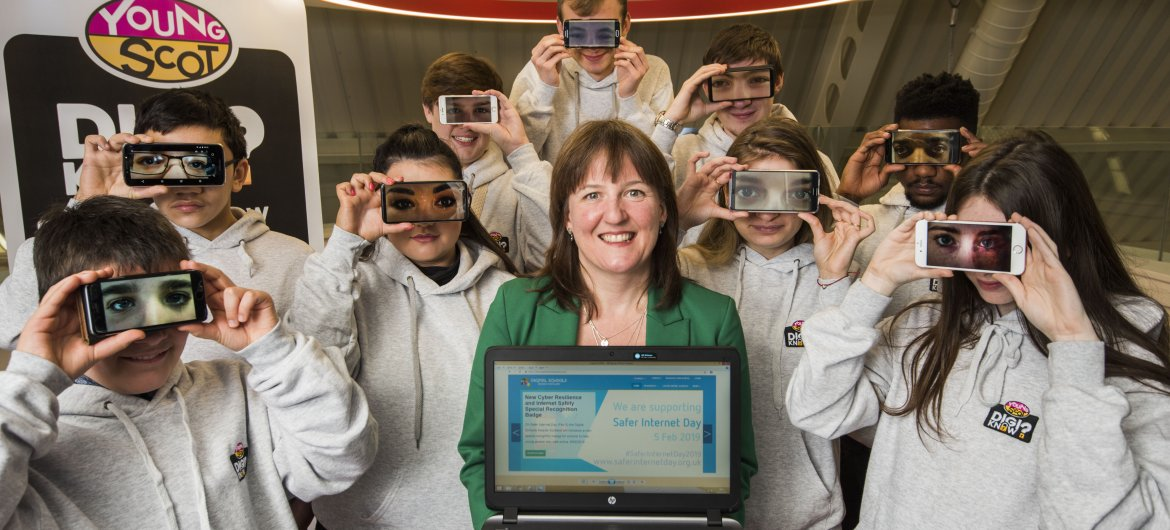 New Cyber Resilience and Internet Safety Special Recognition Badge launched by Digital Schools Awards Scotland